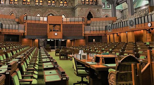 Travaux parlementaires r unions calendrier et for Chambre des communes