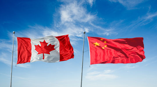 Relations sino-canadiennes