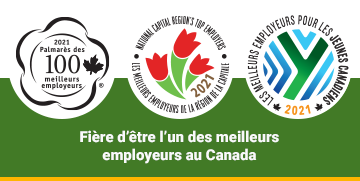 Proud to be one of Canada's Top Employers